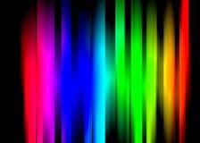 Neon-glühen Hintergrund stock abbildung