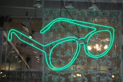 Neon Glasses Royalty Free Stock Photo