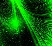 Neon green light. Abstract background Royalty Free Stock Images