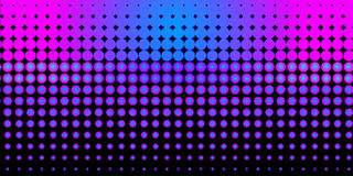 Neon halftone pattern royalty free illustration