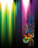 Neon illustration background vector Royalty Free Stock Photo