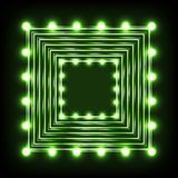 Neon illustration Stock Image