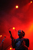 Neon Indian band performs at San Miguel Primavera Sound Festival Stock Photo