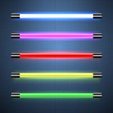 Neon lamps. This is file of EPS10 format Royalty Free Stock Images