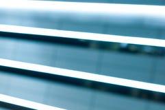 Neon-LED-Linien Nachtheller Hintergrund mit leerem Lizenzfreies Stockfoto