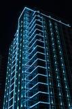 Neon light  on building Stock Image
