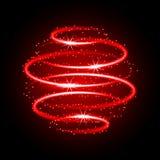Neon light effect Stock Image