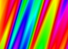 Neon light multicolored gradient lines backgrounds Stock Images