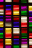 Neon Lights. Colourful Neon Lights in City Stock Images