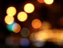 Neon Lights. Decorative neon lights in soft focus Royalty Free Stock Photo