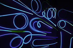Neon Lights Stock Photo