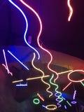Neon Lights. Diverse neon lights Stock Photos