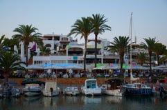 Neon lights Majorca Royalty Free Stock Photo
