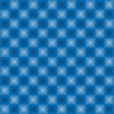 Neon lights pattern blue color. Neon squares vector seamless pattern in icy blue color Royalty Free Stock Photography