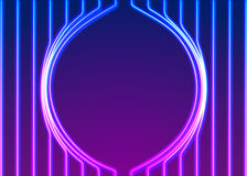 Neon lines background with glowing 80s new retro vapor wave style. Neon lines background with glowing 80s retro vapor wave style Royalty Free Stock Photo