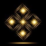 Neon logo Royalty Free Stock Photo