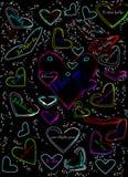Neon love Royalty Free Stock Image