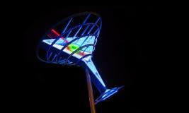 Neon-Martini Lizenzfreie Stockbilder