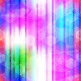 Neon mosaic seamless pattern Stock Photography