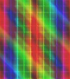 Neon Mosaic Tile Background royalty free stock images
