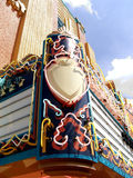 Neon Movie House Marquee Sign Royalty Free Stock Photography