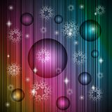 Neon new year christmas  background Royalty Free Stock Photo