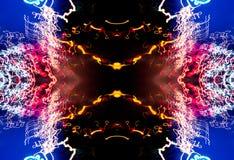 Neon Nietige Dromen Stock Foto's