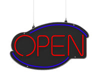 Neon Open Sign Royalty Free Stock Images