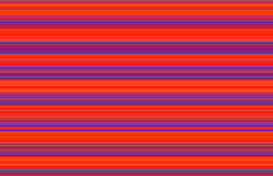 Neon Orange and Blue Striped Background. Bright neon background with stripes of varying widths, primarily in shades of pink, blue, purple, red, orange, and Royalty Free Stock Photography