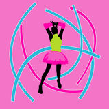 Neon Party Background vector illustration