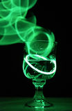 Neon Party Drink Stock Photo
