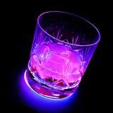 neon pink glow alcoholic drink Stock Image