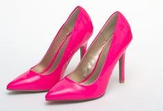 Neon Pink Heels Stock Photo