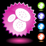 Neon Seal Set - Crackers Royalty Free Stock Image