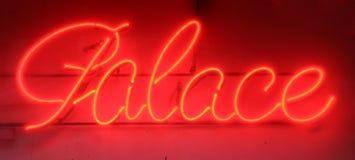 Neon sign Stock Photo