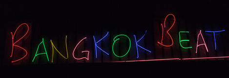 Neon sign Royalty Free Stock Images