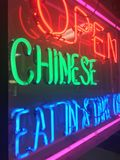 Neon Sign royalty free stock image
