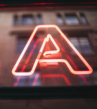Neon sign of Stock Images