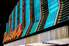 Neon Sign on Fremont Street Stock Photography