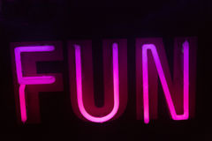 Neon sign Stock Image