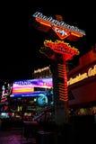 Harley Davidson neon sign, Las Vegas, NV. Stock Photo