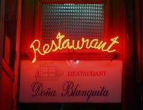 Neon Sign In Havana Cuba Stock Photo