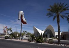 The Neon Sign Museum in Las Vegas, Nevada Royalty Free Stock Photography