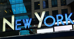 Neon sign New York Royalty Free Stock Photography