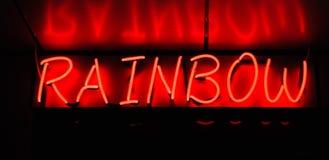 Neon signboard Royalty Free Stock Photos