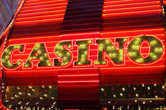 Neon signs Stock Photography