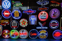 Neon Signs Stock Image