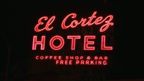 Neon Signs in Las Vegas.  - Clip 12 of 20 stock footage