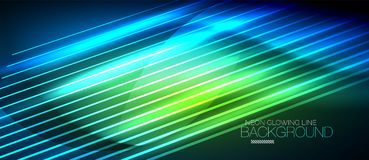 Neon smooth wave digital abstract background. Neon blue vector smooth wave digital abstract background vector illustration