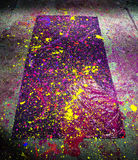 Neon splatter paint Royalty Free Stock Photos